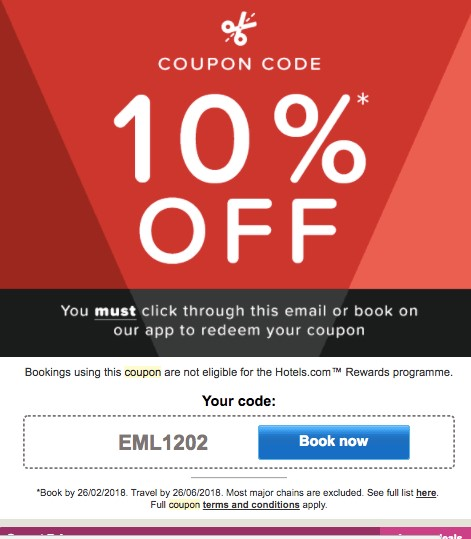 email marketing discount coupon